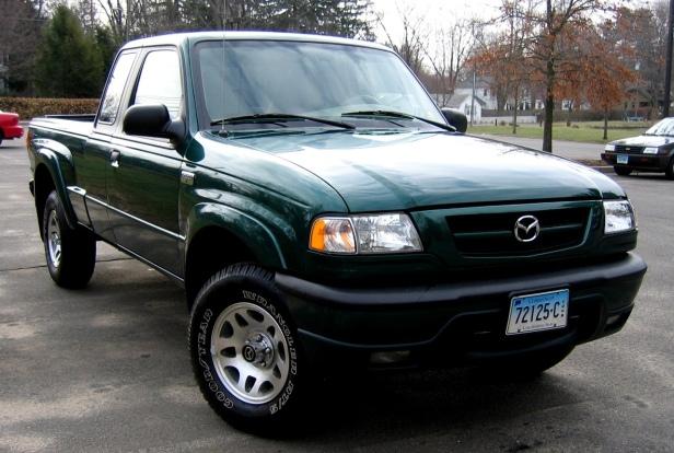 2000 Mazda B2000 Pickup